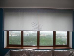 сдвоенные рулонные шторы