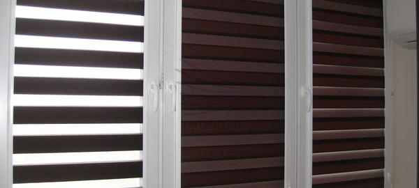шторы день-ночь на пластиковые окна