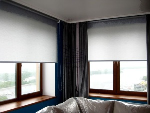 Рулонные шторы большие