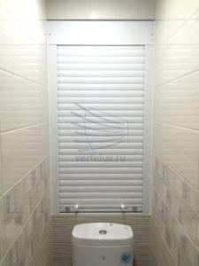 Металлические рольставни в туалет