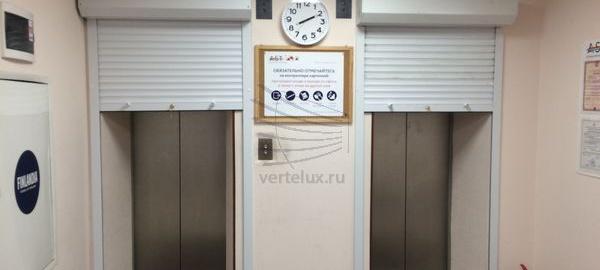 Роллета на лифт