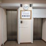 Рольставни поверх лифтов